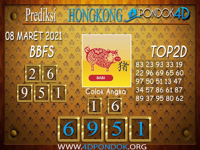 Prediksi Togel HONGKONG PONDOK4D 08 APRIL 2021