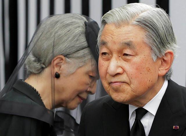 O Gov. anunciou a 'Conferência Imperial' para definir a data de abdicação de Akihito.