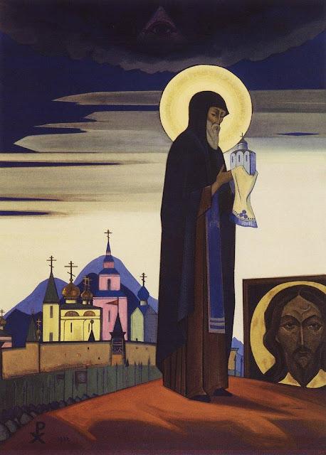Николай Рерих - Святой Сергий Радонежский