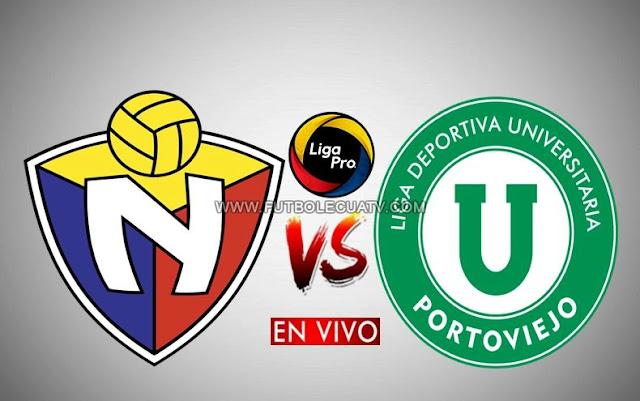 El Nacional choca ante Liga de Portoviejo en vivo por la fecha uno del campeonato ecuatoriano a realizarse en el estadio Olímpico Atahualpa a partir de las 13h00 horario de nuestro país, siendo el árbitro principal Luis Quiroz con emisión del medio oficial GolTV Ecuador.
