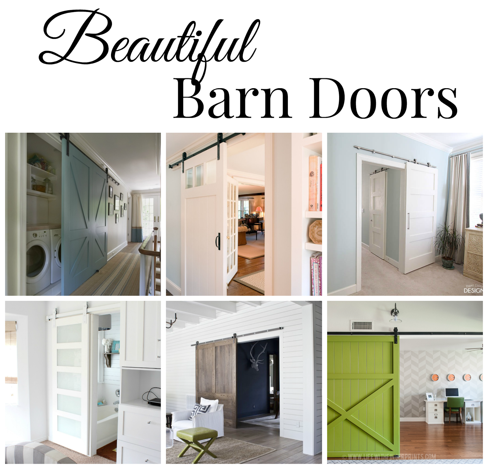Beautiful Barn Doors
