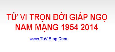 Tu Vi Tron Doi Giap Ngo 1954