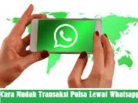 Cara Isi Pulsa Lewat WhatsApp