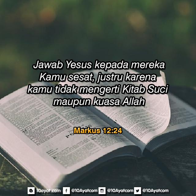 Markus 12:24