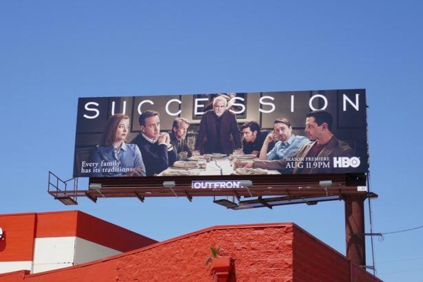 Succession season 2 billboard