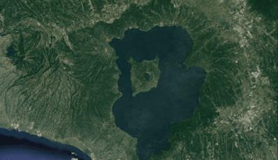 Ilha do Vulcao, no lago Taal - Blog Mortalha