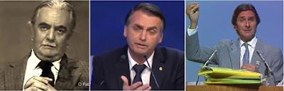 Jânio, Bolsonaro e Collor
