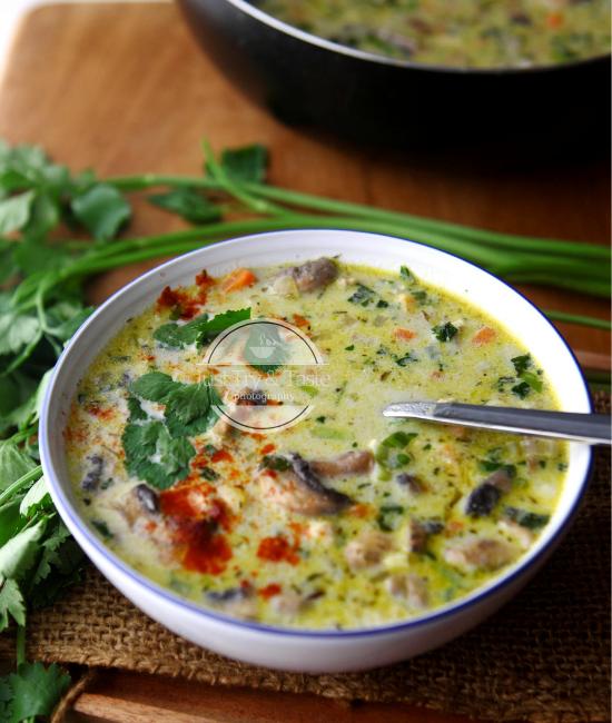 Resep Sup Ayam Creamy JTT