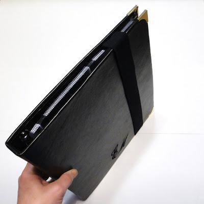 Черная кожаная визитница а4 на кольцах с пластиковыми файлами. На заказ, доставка почтовой службой или курьером