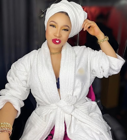 Tonto Dikeh adds a maybach to her fleets of cars