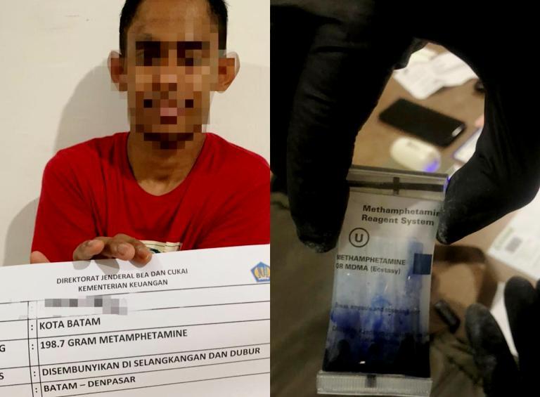 Tegahan Ke IX, BC Batam Amankan Sabu Tujuan Jakarta-Bali