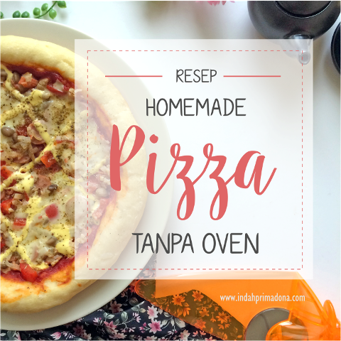 homemade pizza, pizza tanpa oven