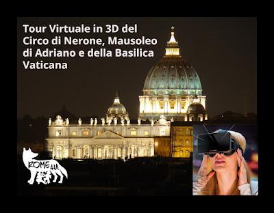 Tour Virtuale dell'Ager Vaticano e della Basilica di San Pietro - Visita guidata con archeologo e ausilio di un visore 3D