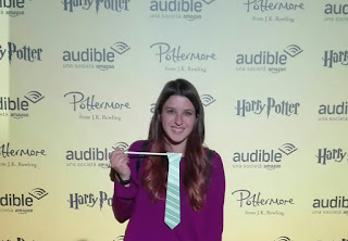 audible pottermore harry potter