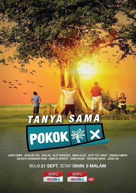 Tonton Drama Tanya Sama Pokok Di Astro Warna Lakonan Sabri Yunus