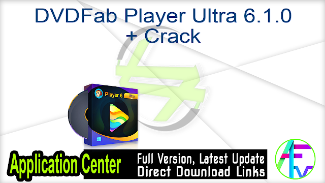 DVDFab Player Ultra 5.0.3.0 + Keys