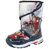 Marvel Avengers Assemble Iron Man Boy's Lighting Winter Warm Snow Boots (Toddler/Little Kid) (11 M US Little Kid)