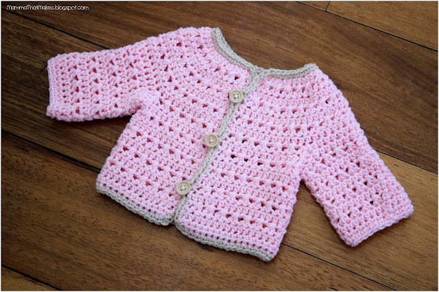 Chris Jacket - Free Newborn Crochet Pattern