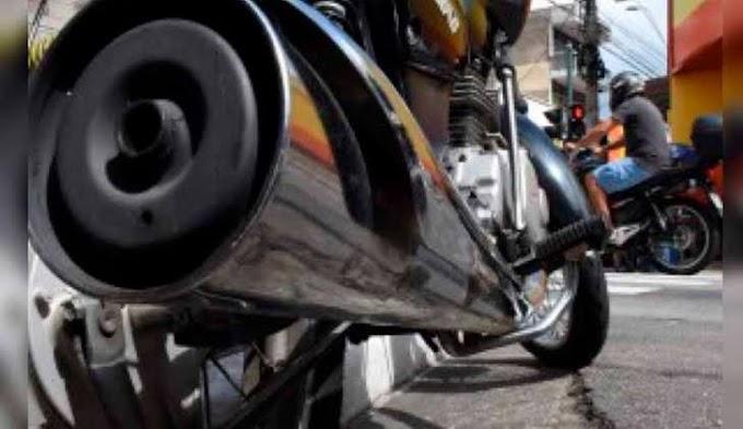 Motociclista embriagado e fazendo muito barulho  é detido após abordagem da Polícia Militar