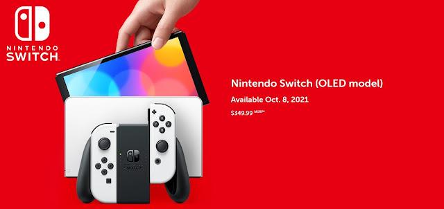 Nintendo anuncia o Switch OLED