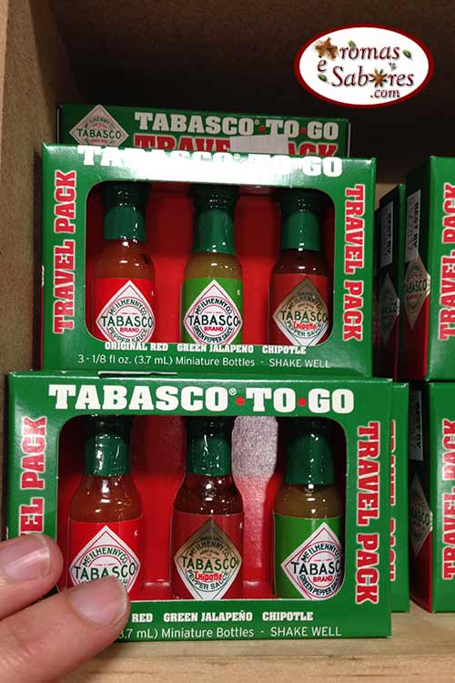 Mini tabasco