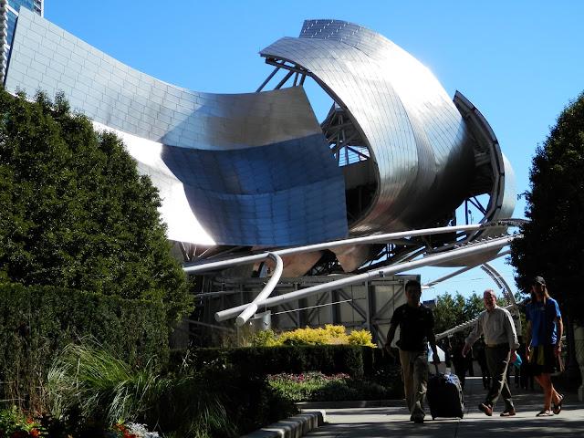 visite du Millenium Park à Chicago