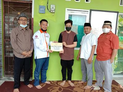 Lazismu Banten Berikan Bantuan ke Yatim Terdampak Covid-19 Dibeberapa Titik