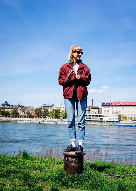 Fotenie pri Dunaji.