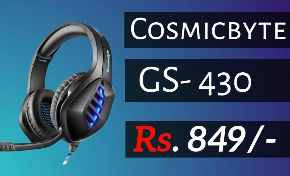Cosmic Byte GS430