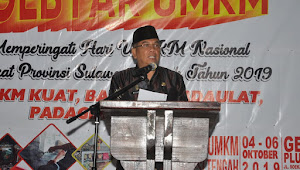 UMKM Sulteng Unjuk Gigi Dalam Gebyar UMKM Tingkat Provinsi