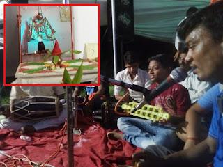 श्रावण मास के अंतिम सोमवार को शिव मंदिर में हुई पूजा अर्चना