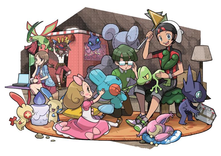 Super Secret Bases - Pokémon OmegaRuby e AlphaSapphire