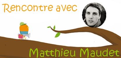 Matthieu Maudet rencontre j'y vais album jeunesse avis critique coup de coeur