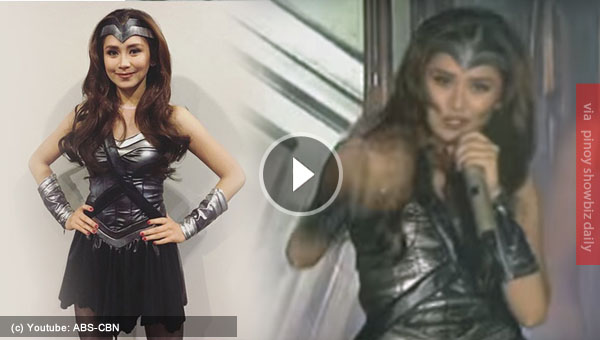 Sarah Geronimo stuns in Wonderwoman costume; Netizens calls on to play Darna
