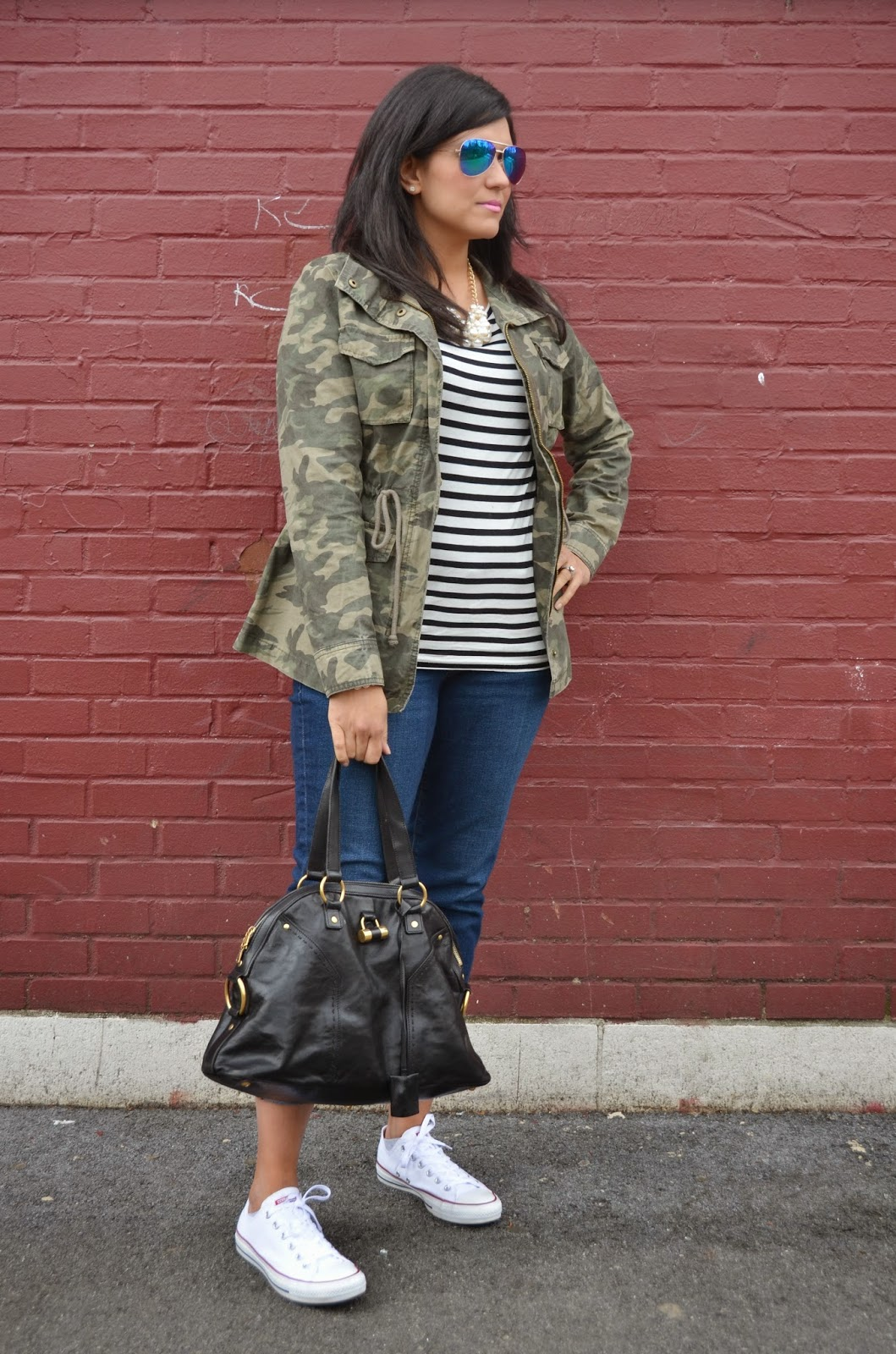 040ac29c8dd Top  H M Jacket  Old Navy Jeans  Old Navy Sneakers  Converse Necklace   Forever 21. Bracelets  Forever 21 (old