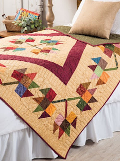 Autumn colors for quilt projects