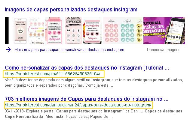 Como o Pinterest aumenta sua classificação no Google