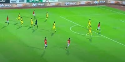 منتخب مصر الأولمبى يفوز على جنوب إفريقيا بثنائية مصطفى محمد