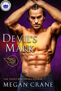romance novel cover, contemporary romance, Devil's Mark by Megan Crane