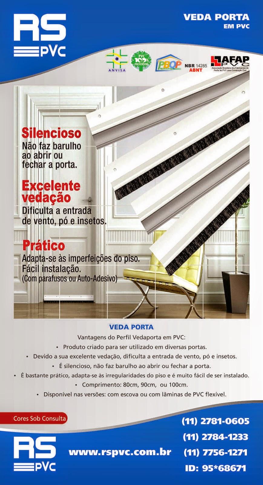 RS PVC® CANTONEIRAS PERFIL PLÁSTICAS PVC RS PVC® JUNTA