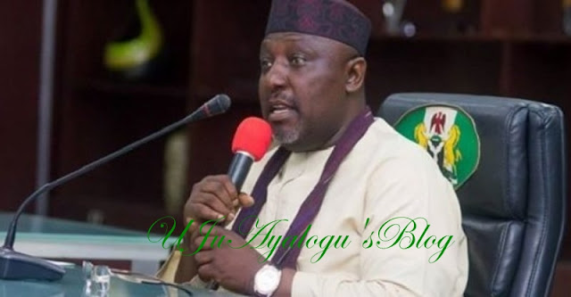 Imo: Okorocha claims Governor Ihedioha blackmailing him
