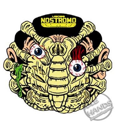 kidrobot Madballs Horrorballs Alien Face Hugger