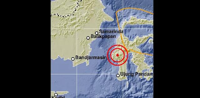 Gempa Kembali Guncang Mamasa, Masyarakat Berhamburan Dua Orang Pingsan