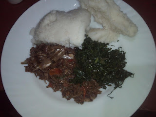 Ugali, Omena and Sukuma plate. PHOTO | FILE