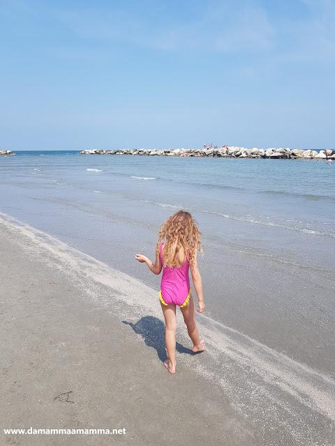 Le nostre prime vacanze al mare in 4