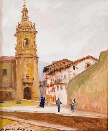 Agustín Segura Iglesias, Paisajistas españoles, Pintores españoles, Pintor español