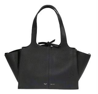 Celine Trifold Medium Bag Black