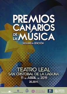 premios canarios de la música 2018