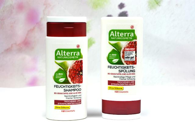 Alterra Naturkosmetik Feuchtigkeits-Shampoo & Spülung für trockenes und strapaziertes Haar