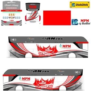 Livery BUSSID Srikandi SHD Sumatera MPM